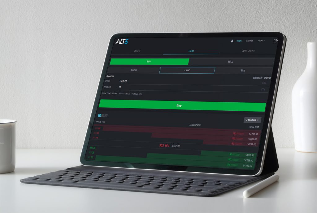 ALT 5 Pro - crypto currency exchange