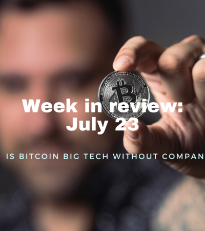 Is bitcoin big tech without company?